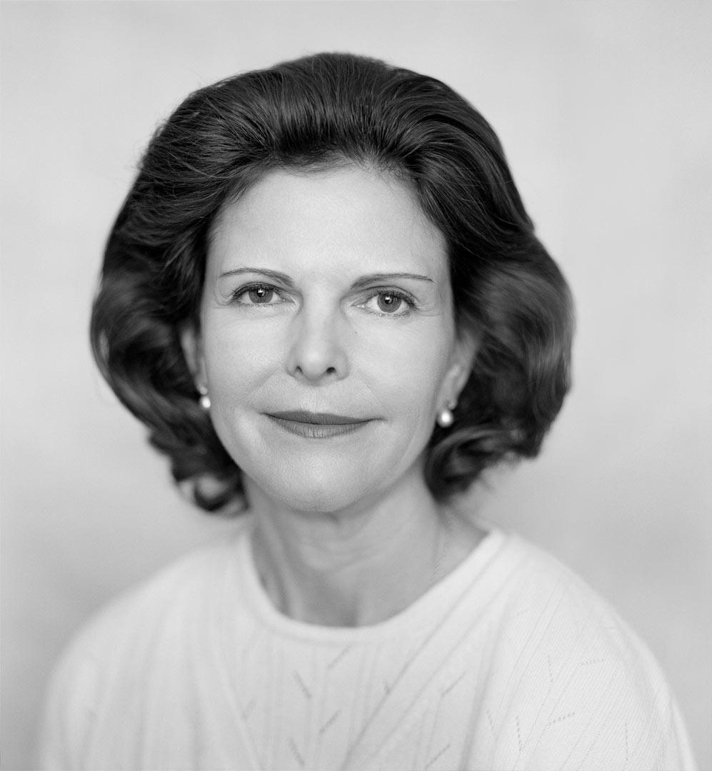 H.M. Drottning Sylvia för Childhood Foundation